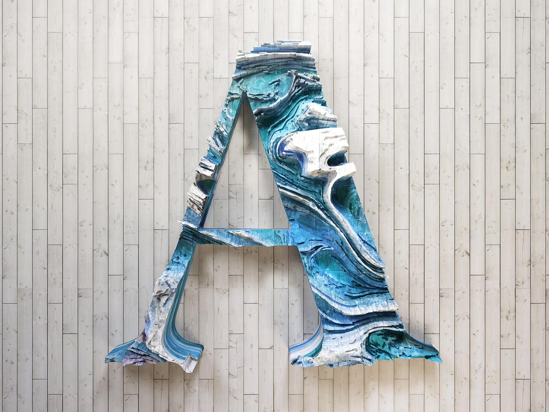 Inspiration_Travaux_typographiques_3D_digital_art_13