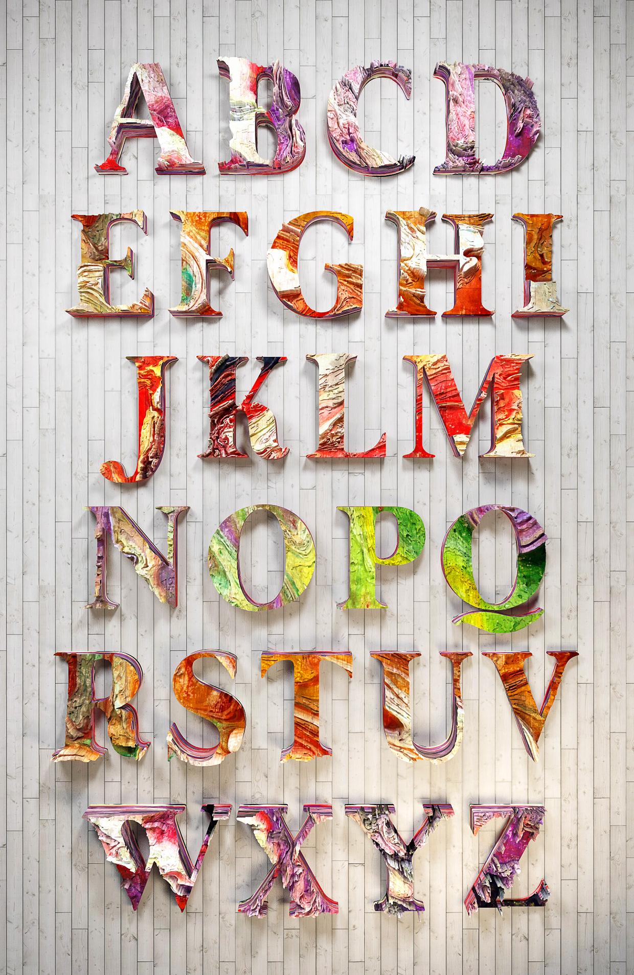 Inspiration_Travaux_typographiques_3D_digital_art_19