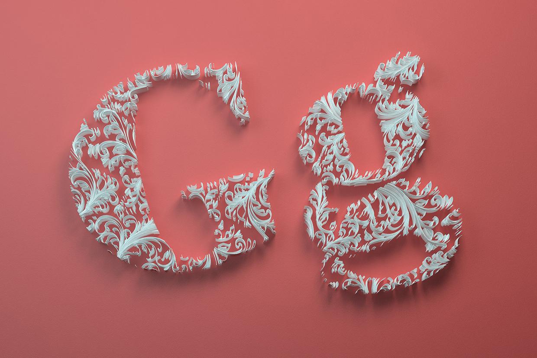 Inspiration_Travaux_typographiques_3D_digital_art_1