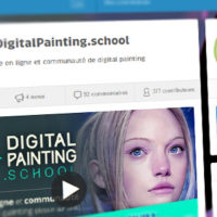 Plus que 3 jours pour contribuer au crowdfunding de DigitalPainting.school !