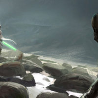 Illustrations et Fan arts en digital painting sur Star Wars
