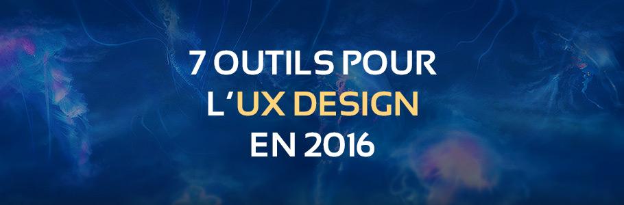 7 outils et applications d'UX à essayer en 2016
