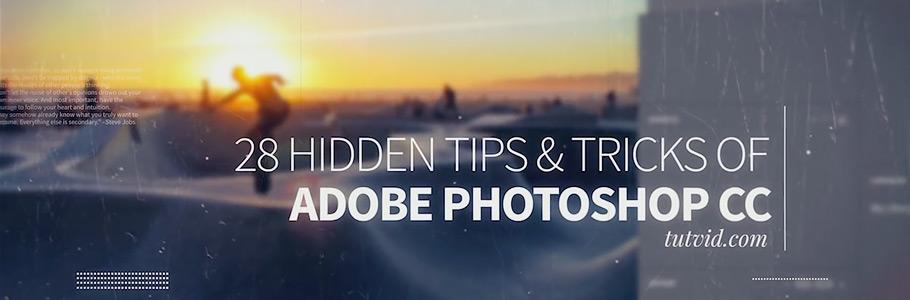 28 puissantes Astuces et Fonctionnalités cachées de Photoshop CC !