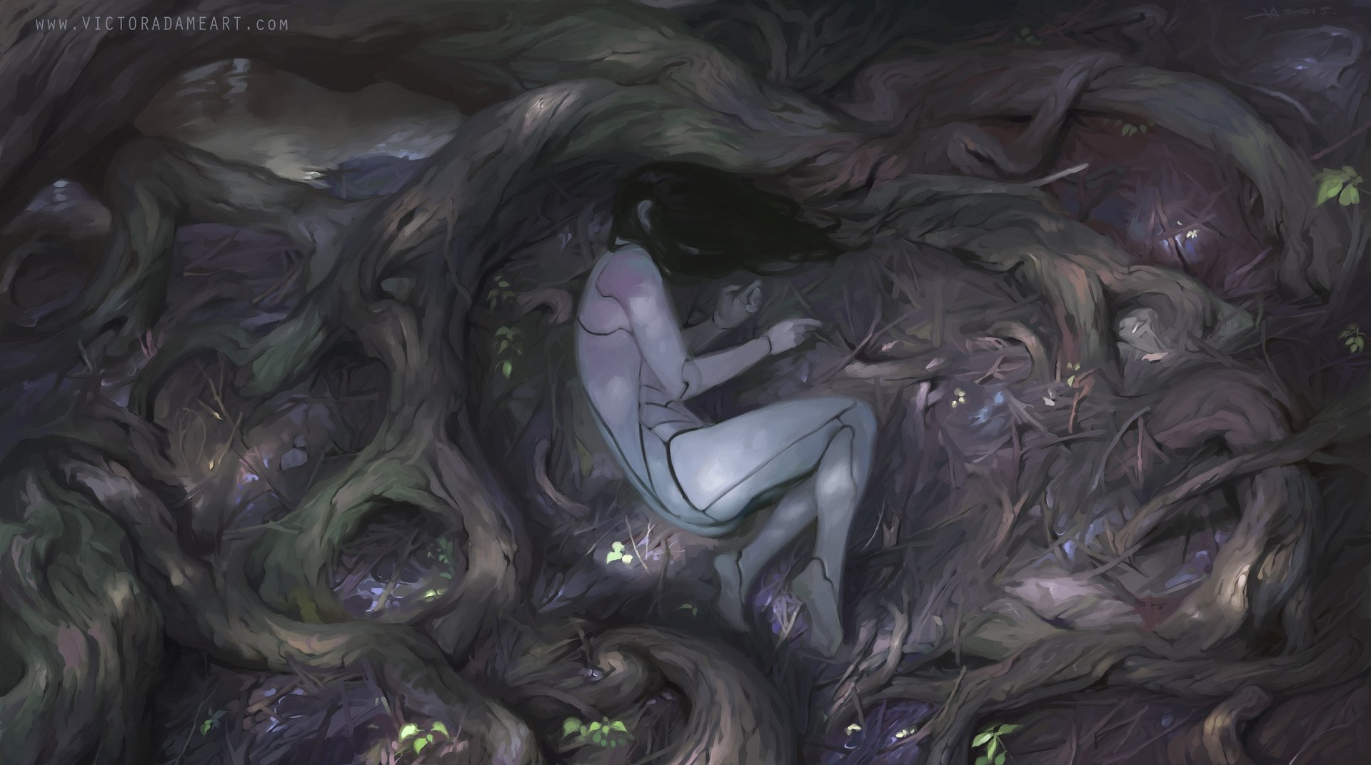 Les digital paintings de fantasy à tomber de Victor Adame Mínguez