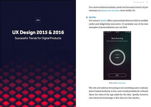 Gratuit : le Top 5 des e-Books de design par UXPin à télécharger