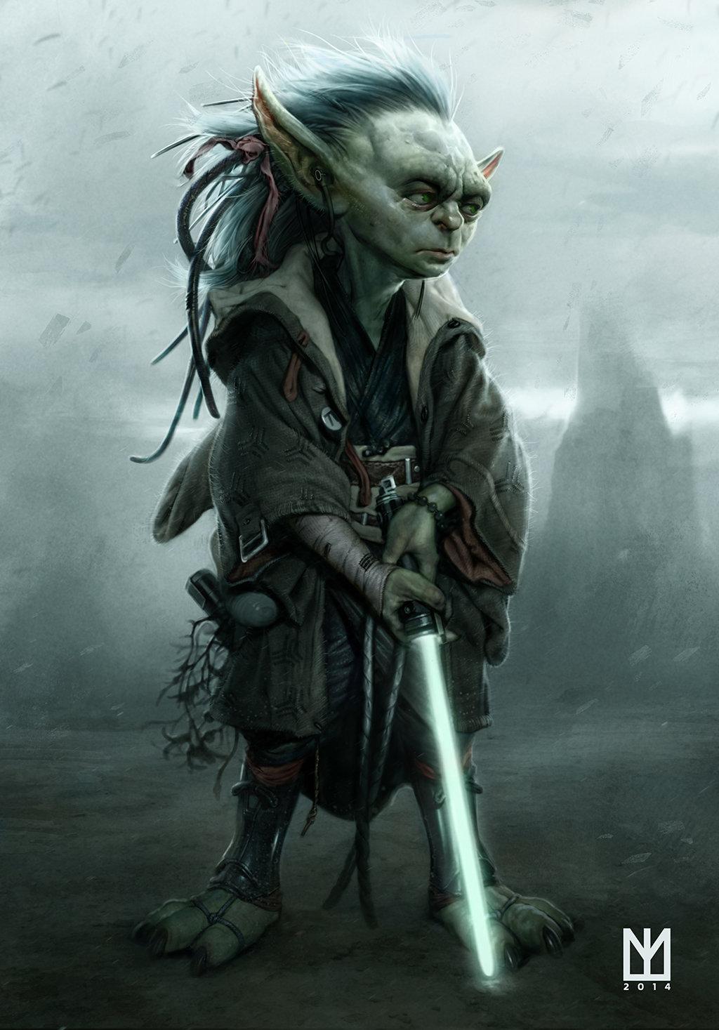 25 Illustrations et Fan arts en digital painting sur Star Wars