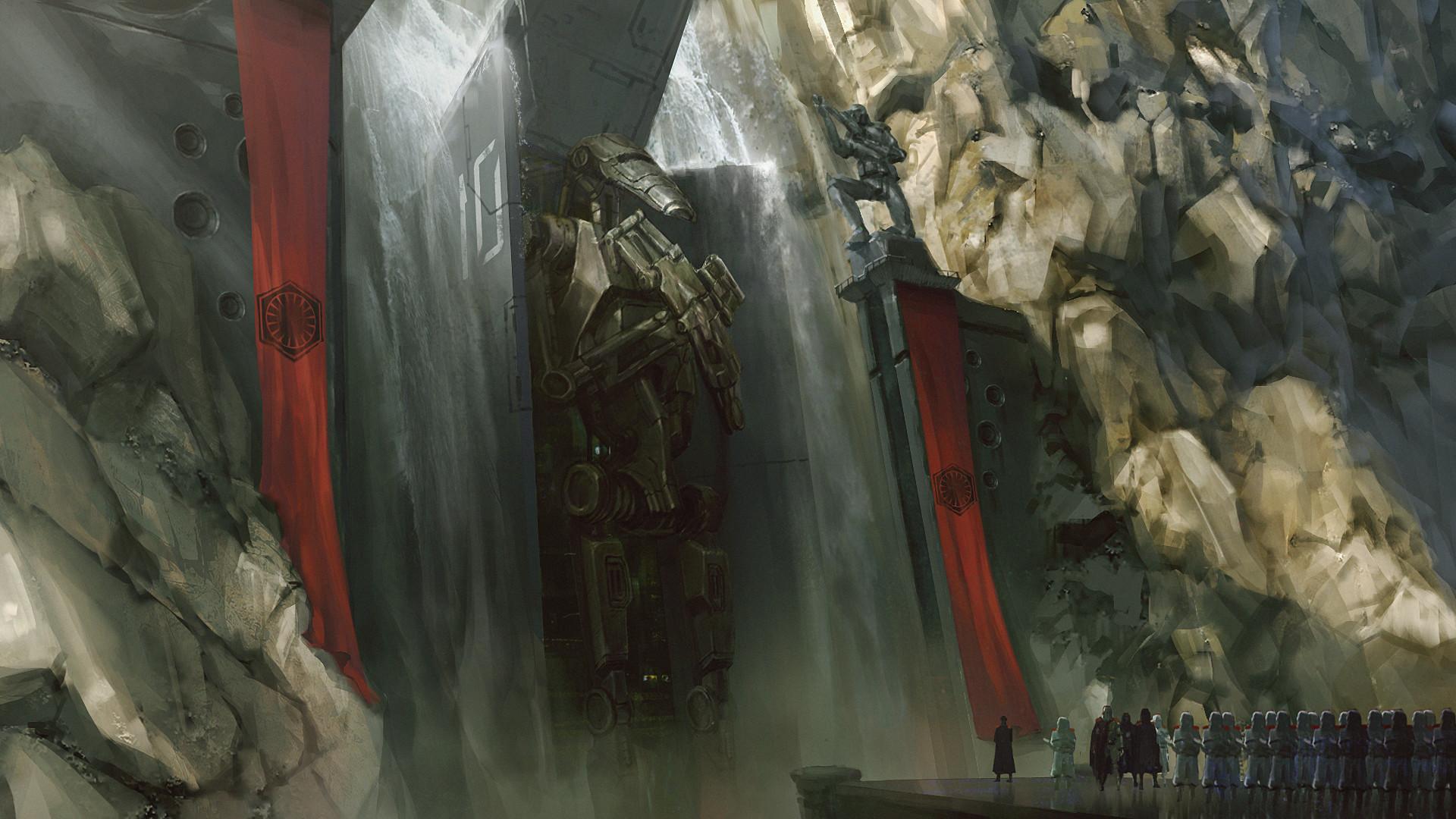 Les concept arts bluffants du maître chinois Iawson Lu