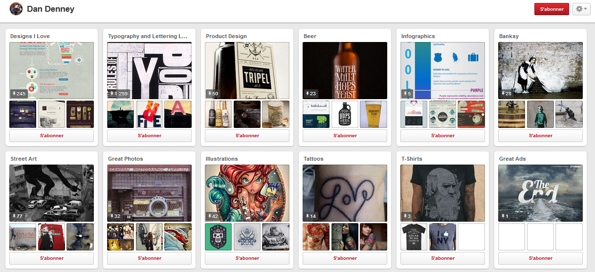 6 profils Pinterest que tout designer devrait suivre pour son inspiration