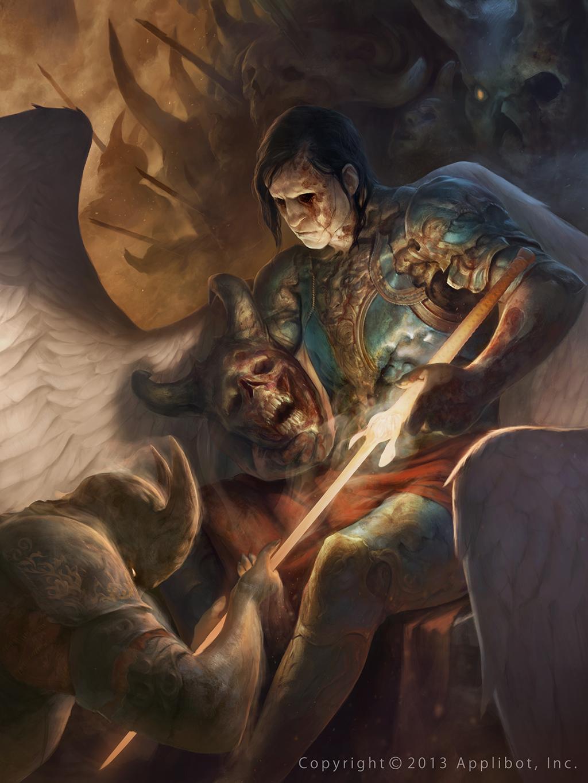 Les guerriers et batailles en digital painting de Stepan Alekseev vont vous faire froid dans le dos