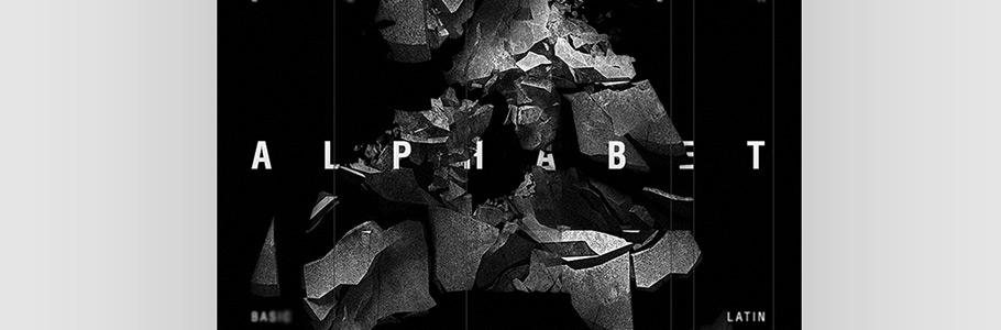 Les posters du designer Gosha Evdokimov : la lettre A à l'honneur