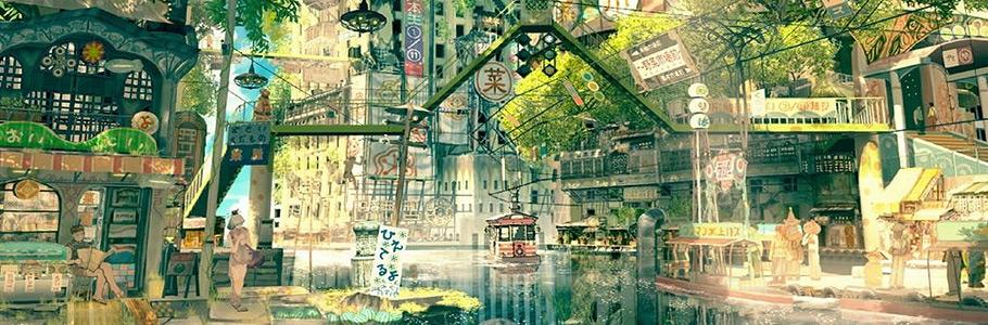 L'univers fourmillant de détails du manga Tekkon Kinkreet
