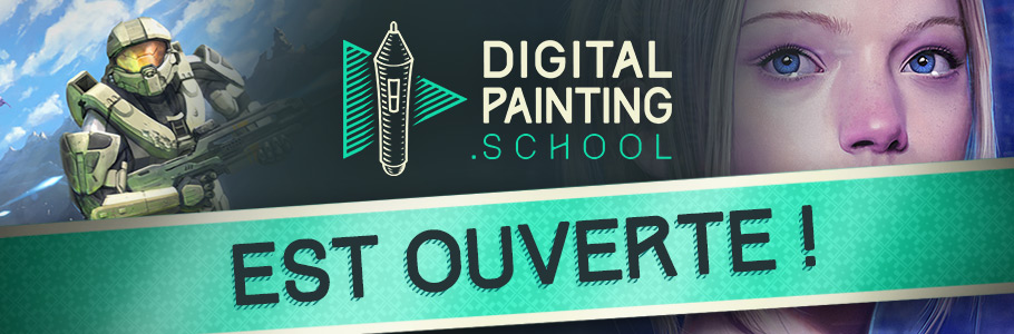 DigitalPainting.school école de digital painting ouvre ses portes !