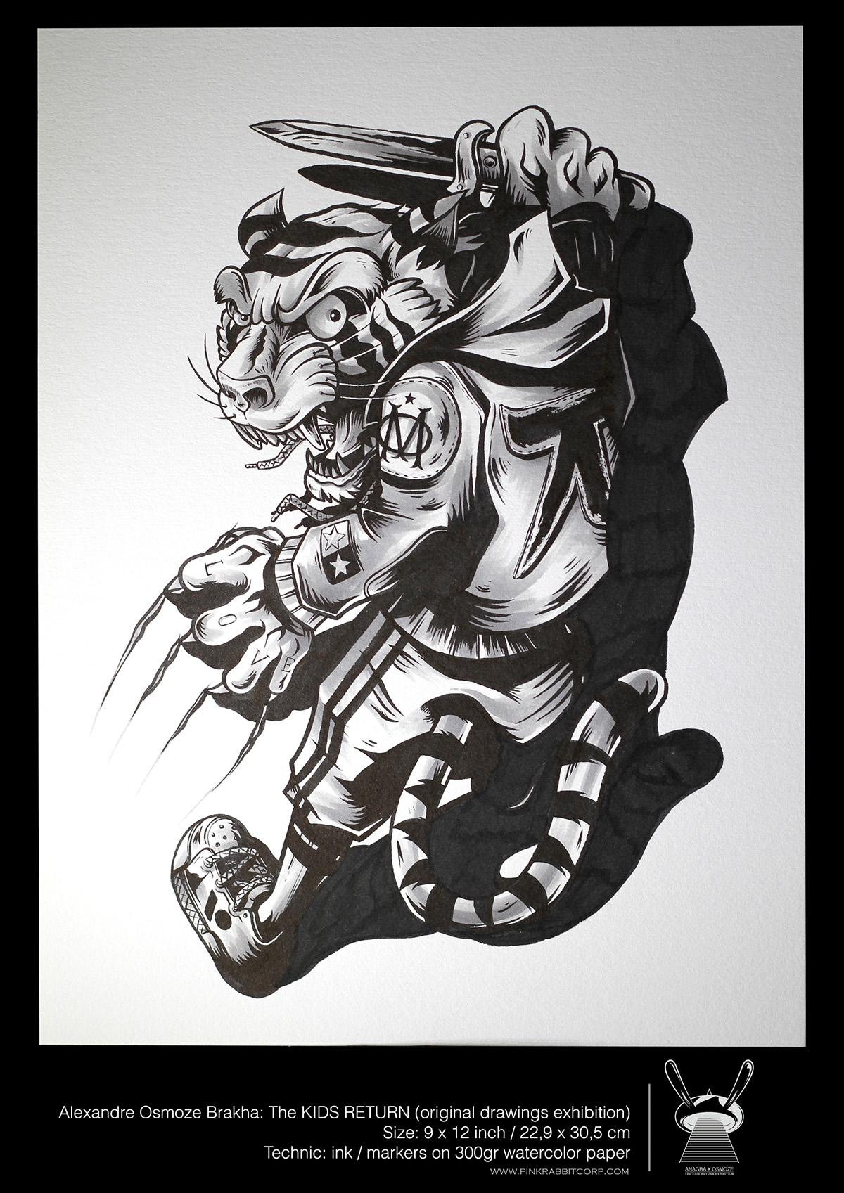 "Exposition nippone : ""The Kids Return"" d'Alexandre Osmoze Brakha"