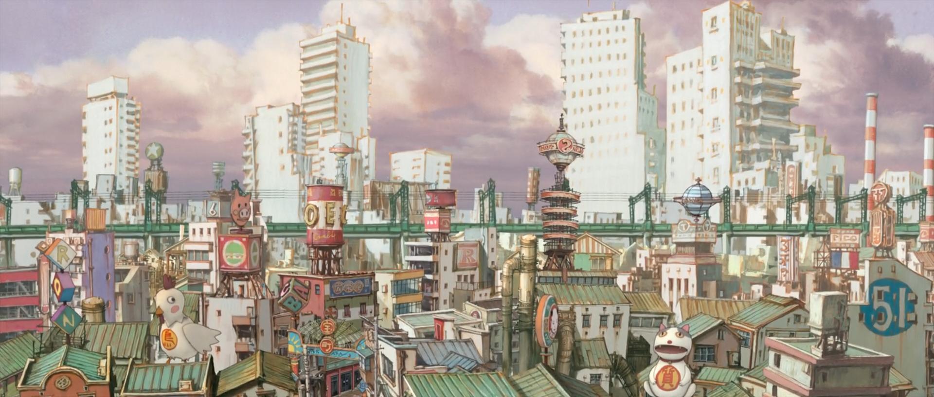 L'univers manga de Tekkon Kinkreet