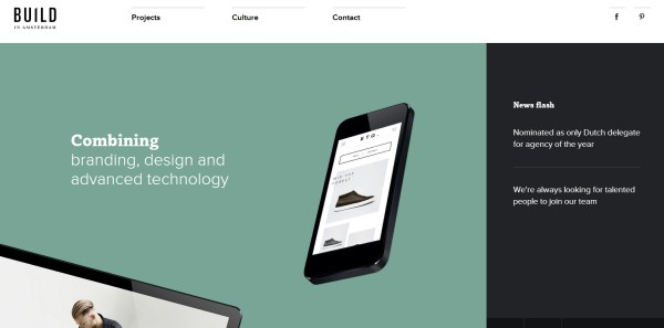 20 excellents Webdesigns de Portfolios