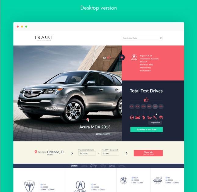 Stan Yakusevich, talentueux Webdesigner et Designer d'interface #22
