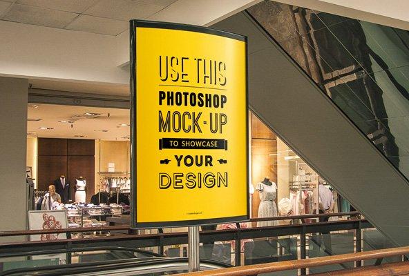 30 mockups gratuits pour vos publicités en extérieurs (enseignes, affiches, etc)