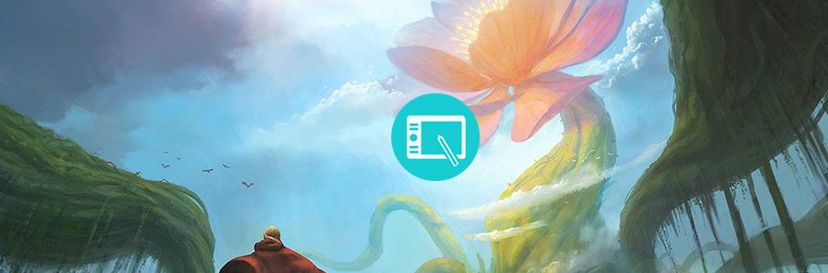 Le Programme indispensable de DPSchool pour apprendre le digital painting