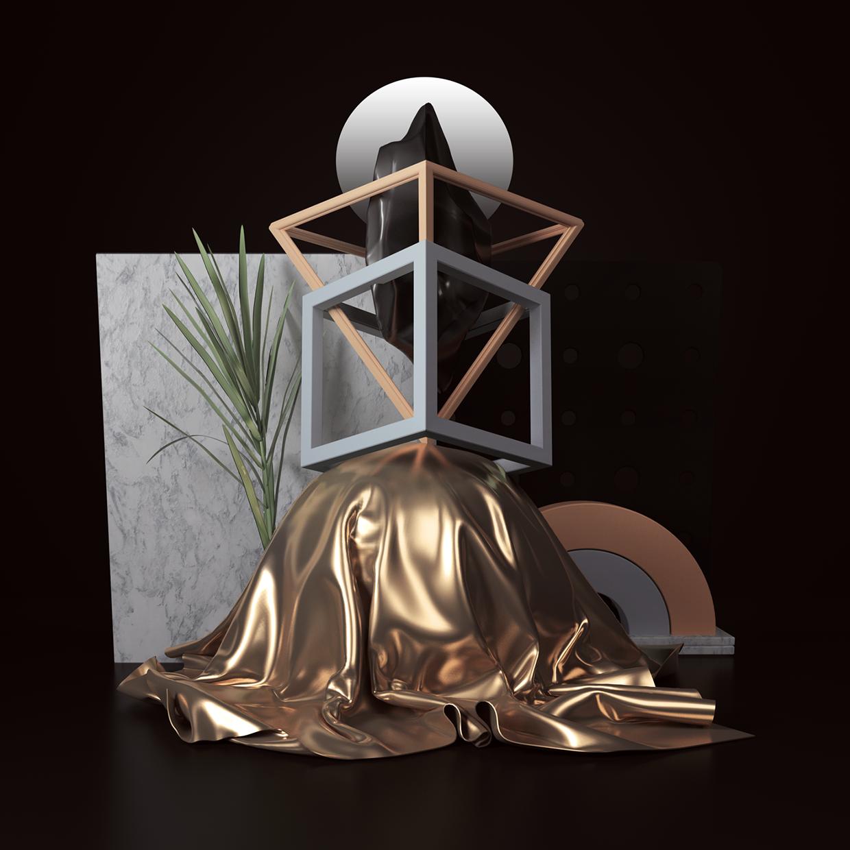 Les illustrations et typographies créatives 3D du graphic designer Peter Tarka