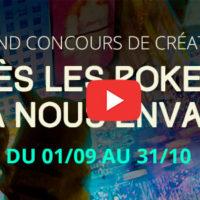 """Grand Concours de création """"Après les Pokemon, qui va nous envahir ?!"""" 2000 € de lots !"""