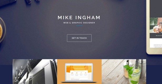 20 excellents Webdesigns de Portfolios
