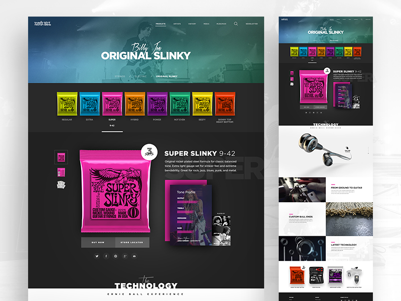 Tony DeAngelo de l'agence ANML, talentueux Webdesigner et Designer d'interface #22