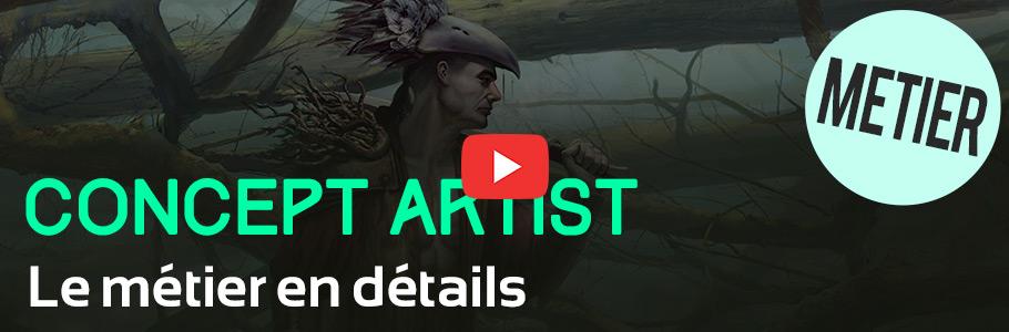 Vidéo : Le métier de concept artist