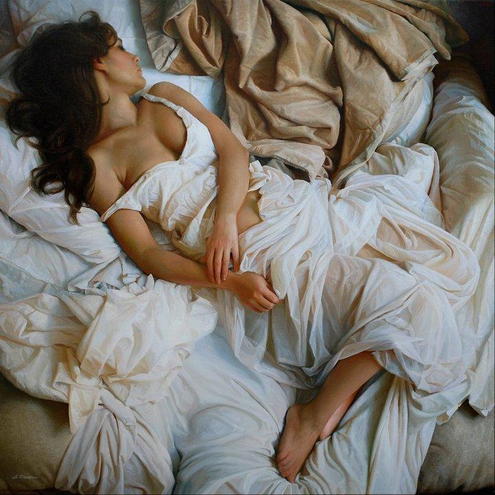 Les somptueuses peintures photoréalistes de l'artiste russe Serge Marshennikov
