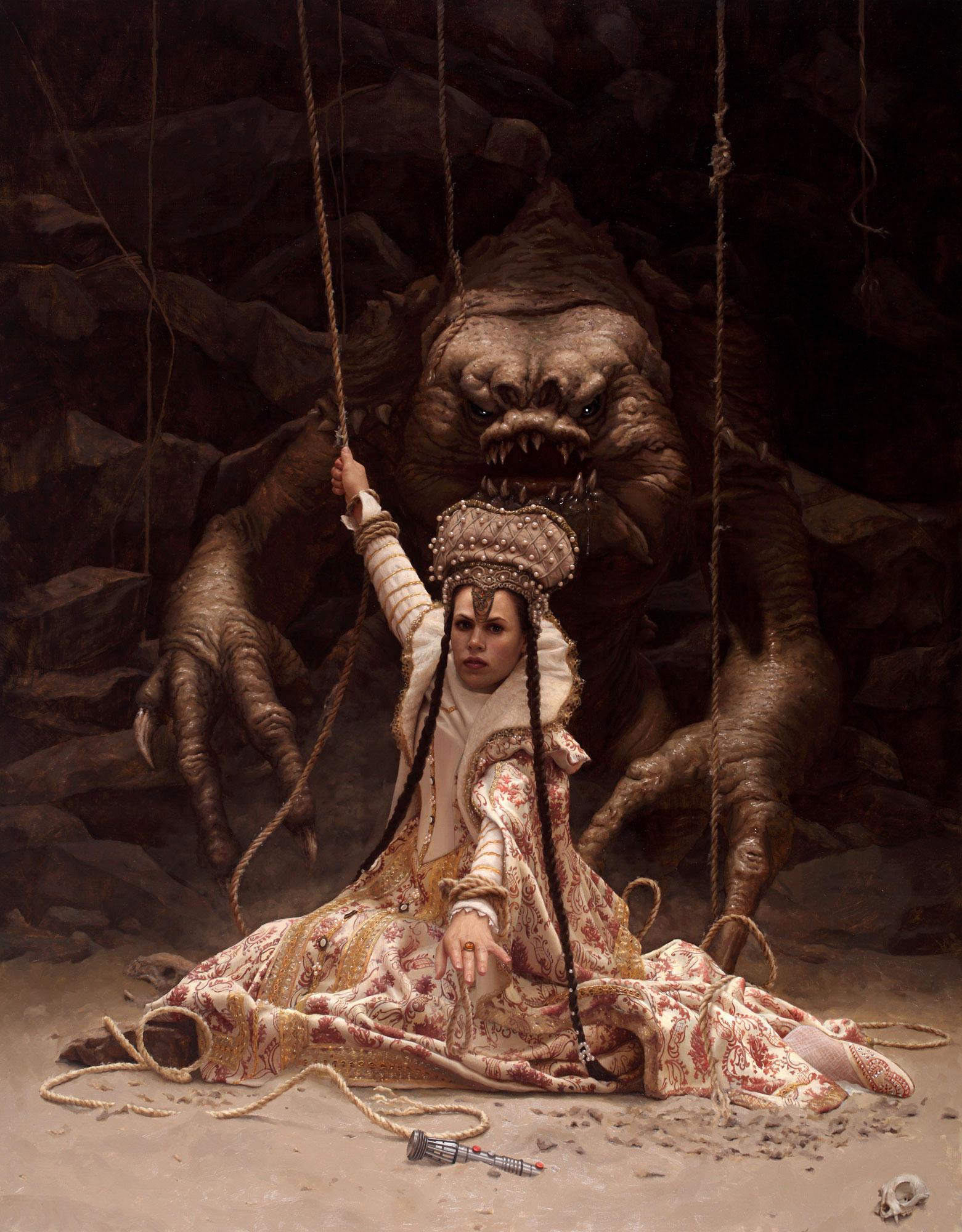 Les sublimes peintures hyperréalistes d'Arantzazu Martinez