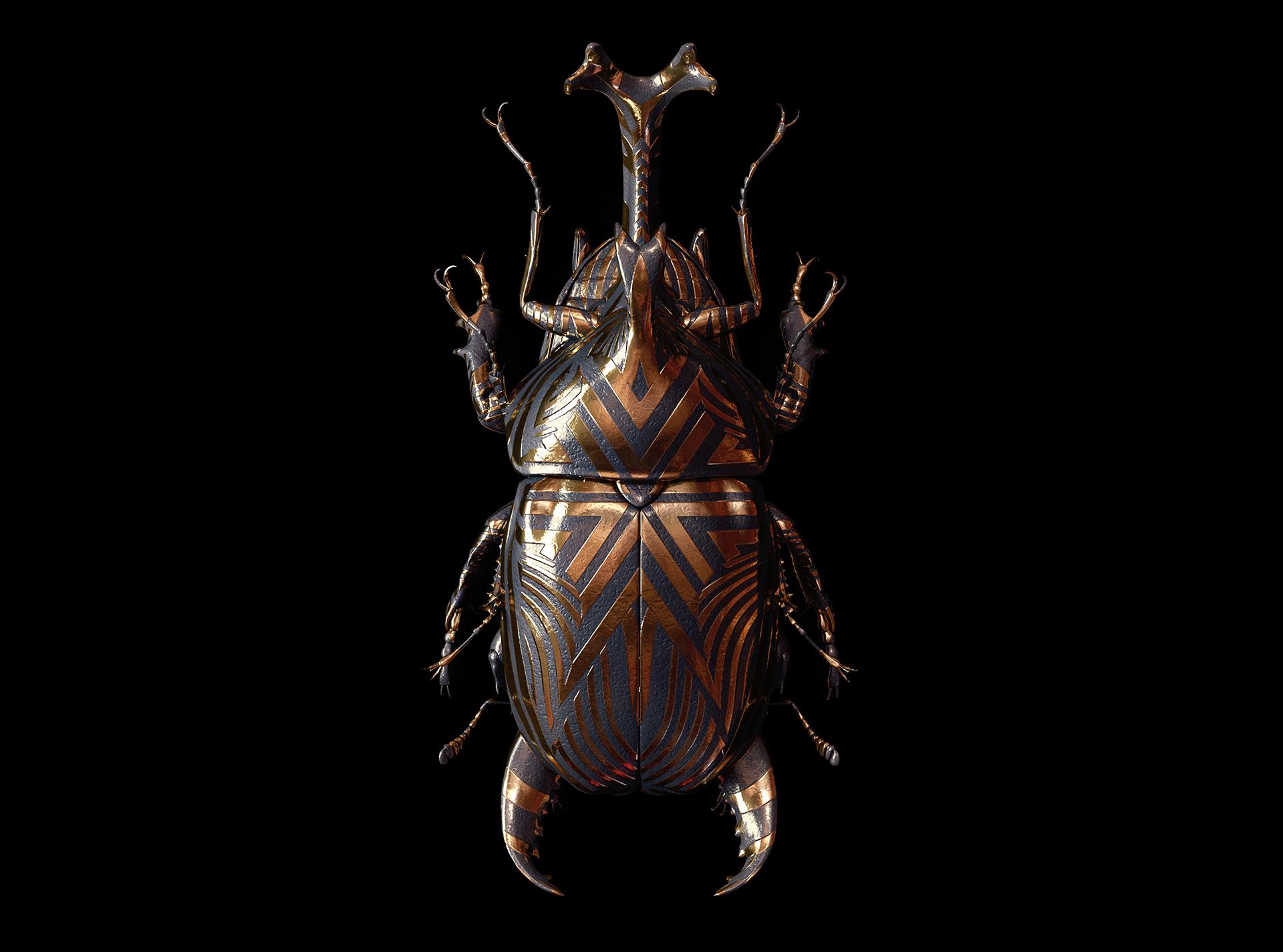 'Engraved Entpmology', le projet d'art digital mirifique de Billelis