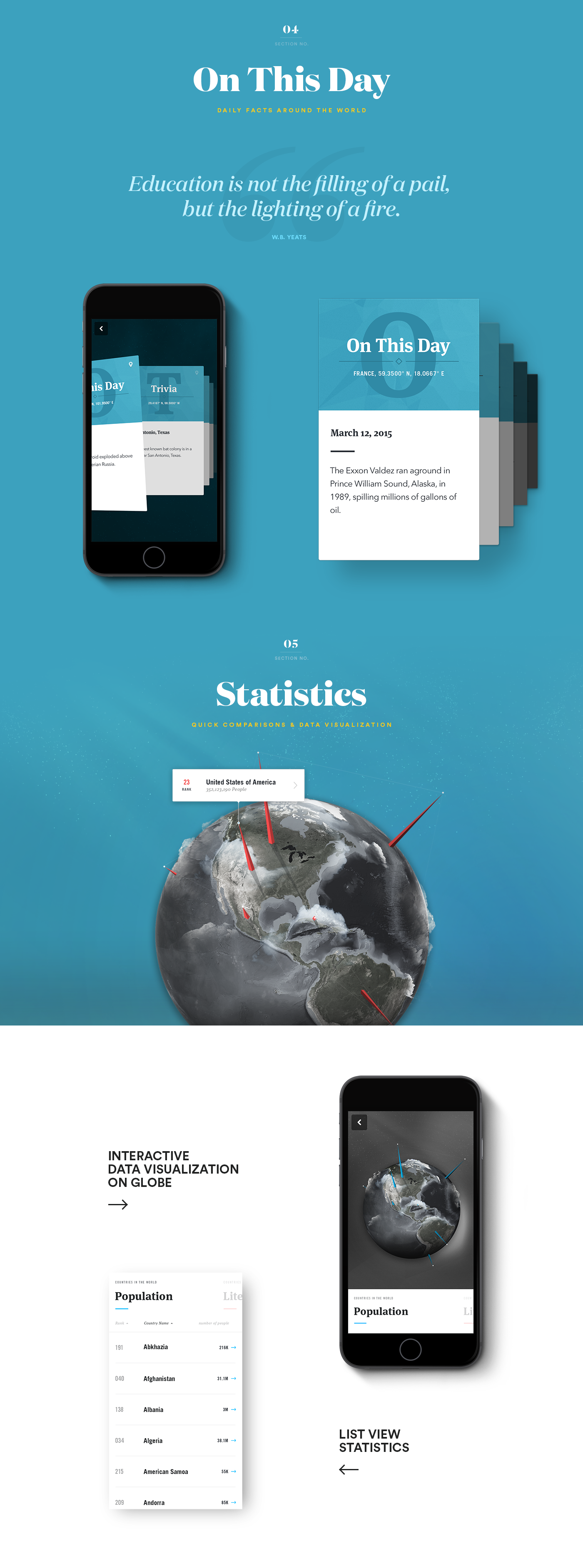 Ben Mingo, talentueux Webdesigner et Designer d'interface #25