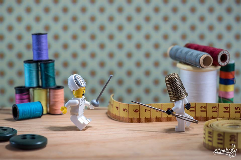 Les univers en LEGO amusants crées par le photographe Samsofy