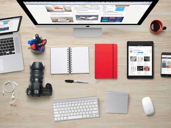 37 PSD gratuits pour créer vos scènes, bureaux et mises en situation