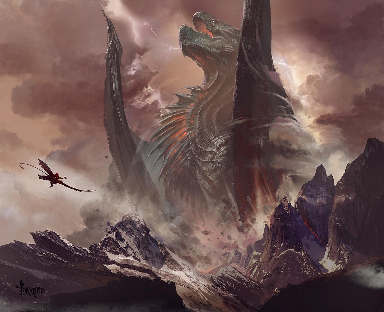 Les fabuleuses illustrations en digital painting de Bayard Wu