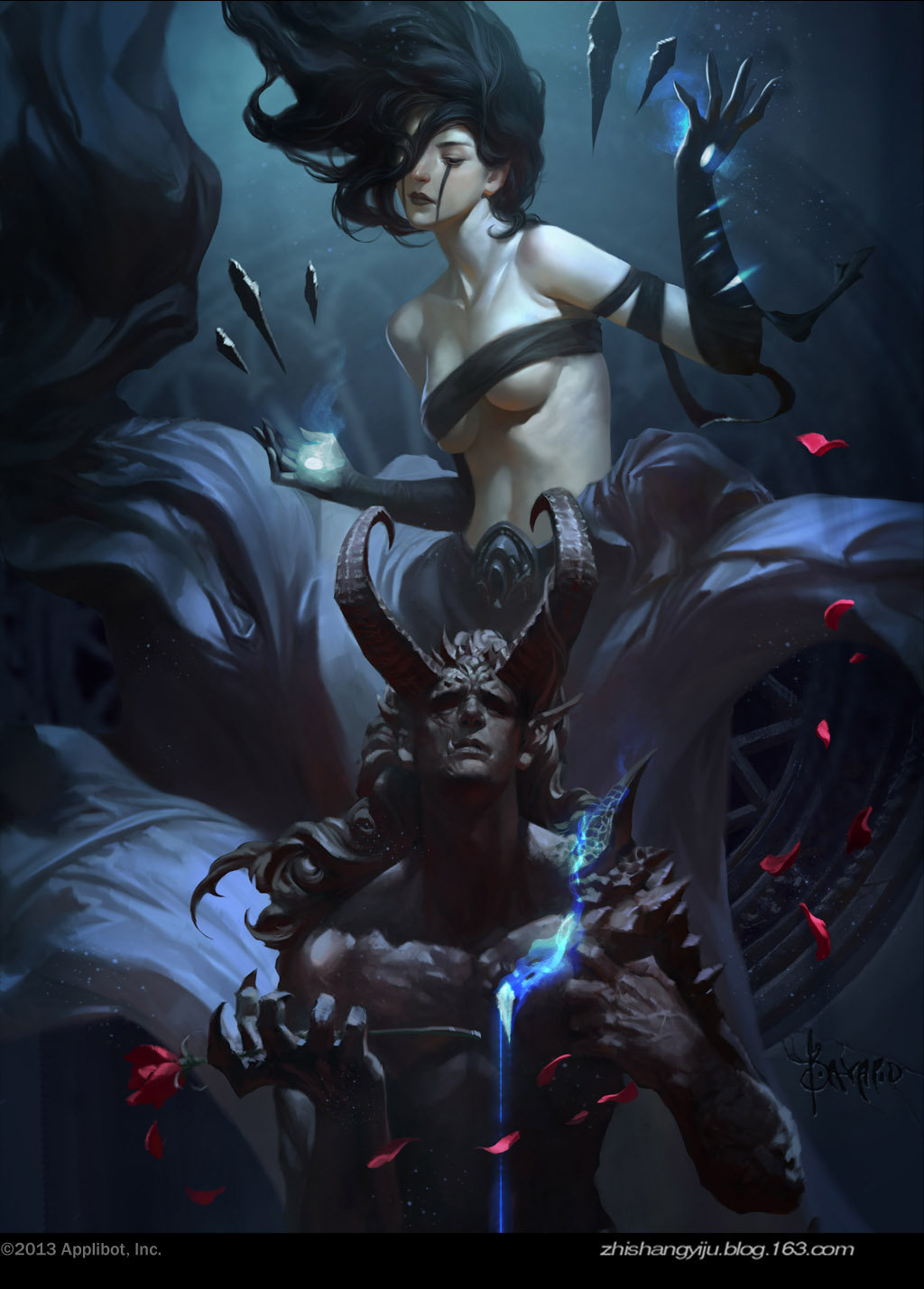 Les fabuleuses illustrations en digital painting de Bayard Wu