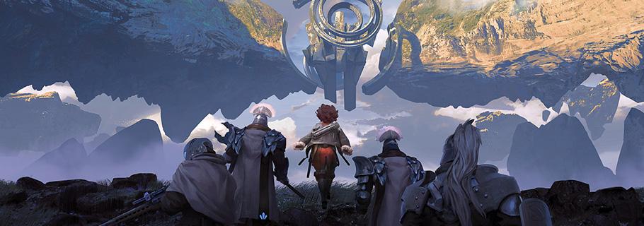 Les personnages et environnements de science-fiction en digital painting de Brandon Liao