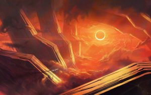 Speed painting Eclipse