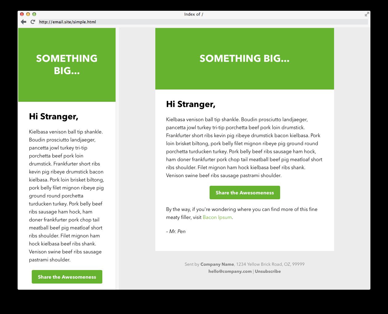 15 templates d'emails responsives gratuits