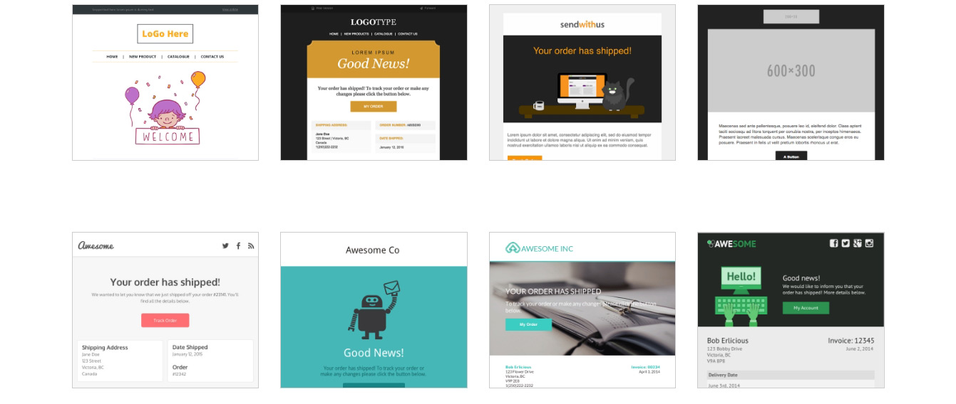 15 templates d'emails responsives gratuits