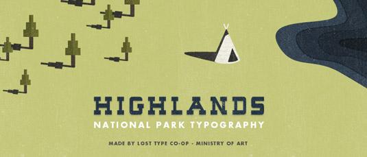 40 Typographies vintage et rétro gratuites