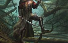 Forest warrior concept art