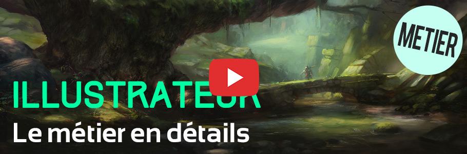 Vidéo : le métier d'illustrateur en détails