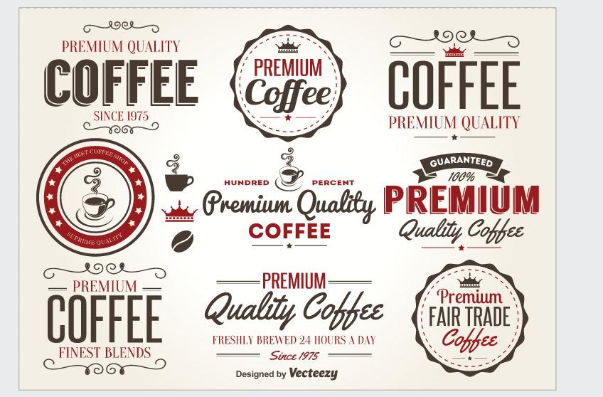 10 Templates gratuits de logos, badges et labels vintage