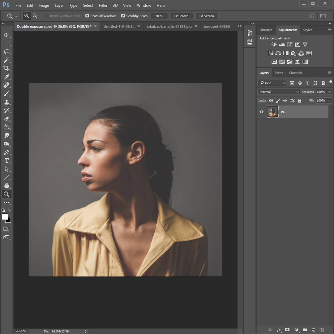 Tutoriel : Effet de double-exposition dans Photoshop