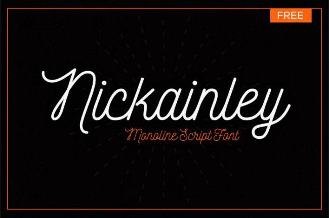 40 nouvelles typographies gratuites de qualité pour designers