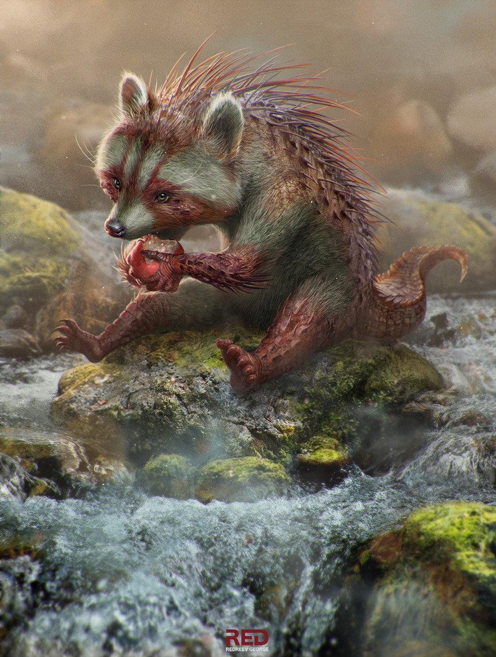 Les illustrations et concept arts de George Redreev au réalisme saisissant