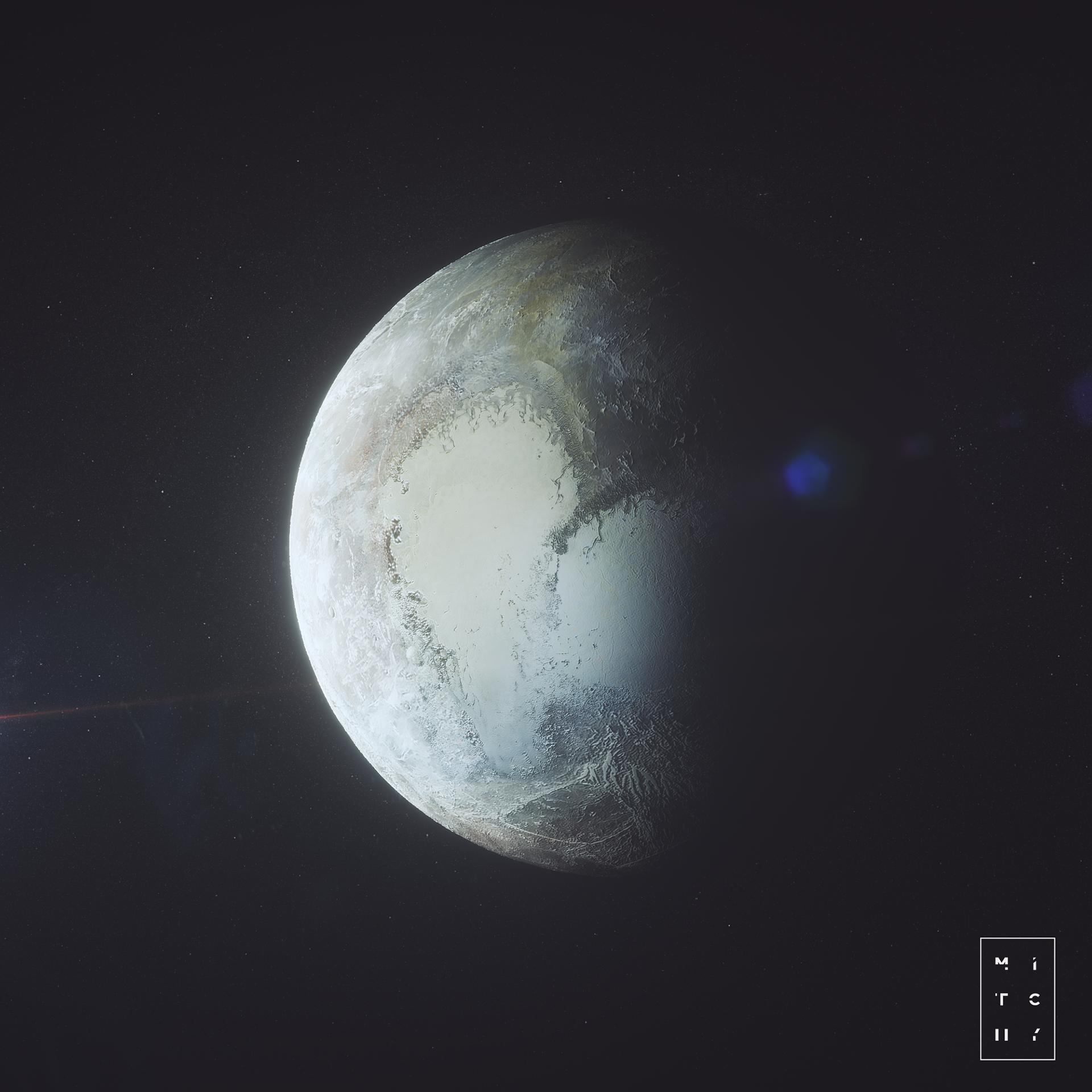 Voyagez dans le grand vide spatial avec les illustrations de Mitch Meyers