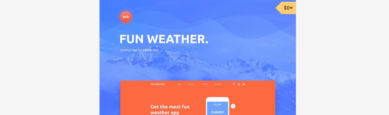 52 PSD de webdesigns à télécharger gratuitement