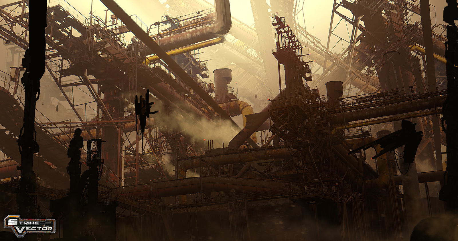 Les super-structures du concept artist Paul Chadeisson