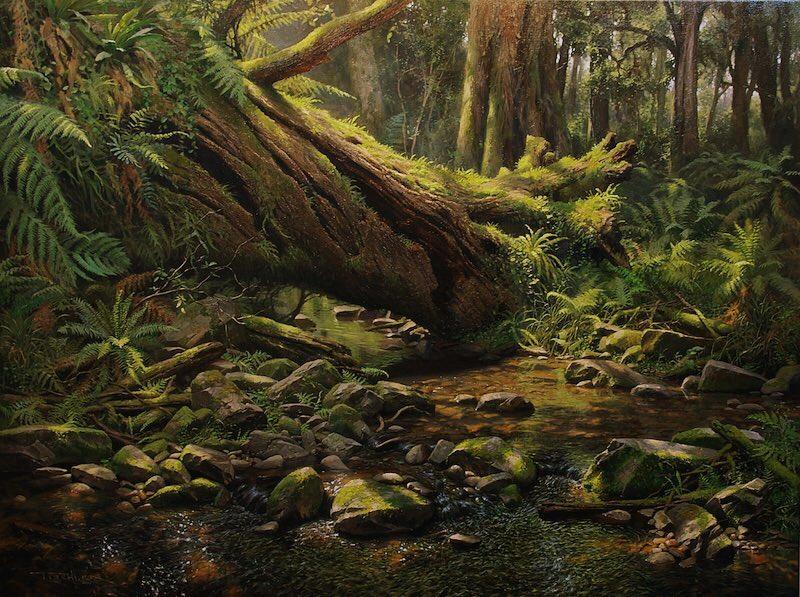 Peintures magnifiques et réalistes d'Andrew Tischler